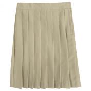 French Toast Pleated Skirt - Khaki