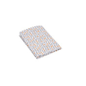 Organic Fitted Crib Sheet - Dots
