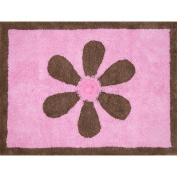 Pam Grace Creations Pam's Petals Decorative Rug