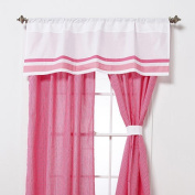 One Grace Place 10-18hp041 Simplicity Hot Pink Valance