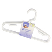BabyShop 10 Pack Hangers - White