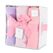Berkshire Baby Sosoft Baby Blanket Gift Set - Butterfly And Dragonfly
