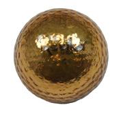 GOLD METALLIC GOLF BALLS - BLING BALLS! by Navika