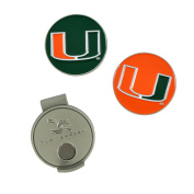 Miami Hurricanes Hat Clip and Ball Markers