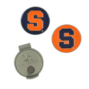 NCAA Syracuse Hat Clip and 2 Golf Ball Markers