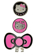 Hello Kitty Couture Crystal Hat Clip and Ball Marker