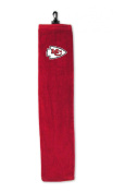 Kansas City Chiefs Embroidered Tri-Fold Golf Towel