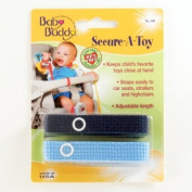 Baby Buddy Secure-A-Toy, Navy/Blue