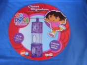Nick Jr Kids Furniture - Dora The Explorer Closet Organiser with 3 shelves