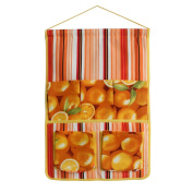 [Orange] Wall hanging/ Wall organisers / Wall Baskets / Hanging Baskets/ Baskets