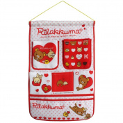 [Bear & Heart] Red/Wall Hanging/ Wall Organisers / Wall Baskets / Hanging Baskets