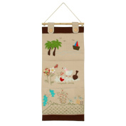[Duck & Flowers] Ivory/Wall Hanging/Wall Pocket/Hanging Baskets/Wall Organisers