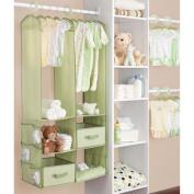 Delta 24 Piece Nursery Closet Organiser, Green