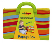 Edushape Medium Pop-Up Fabric Toy Box