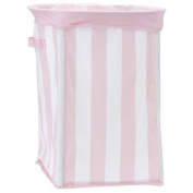 Little Boutique Collapsible Storage - Pink Stripe