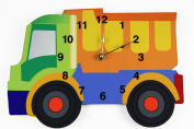 Rikki Knight Dump Truck Wall Clock