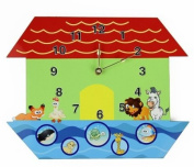 Rikki Knight Noah's Ark Wall Clock