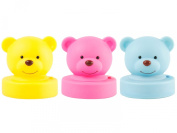 J.I.P. Bear Push Lamp, Assorted Colours