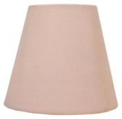 12.7cm Mini Chandelier Shade Pink Silk Mini Lamp Shade Clip On