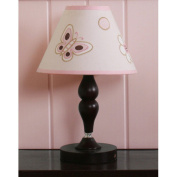 Geenny Lamp Shade - Butterfly Pink / Brown