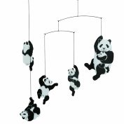 Flensted Mobiles Nursery Mobiles, Panda Mobile