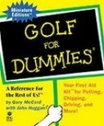 Golf For Dummies ..... Minature Book