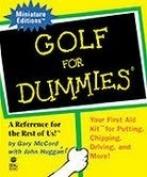 Golf For Dummies ..... Minature Book