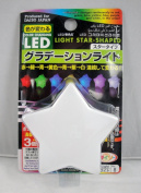 LED Colour Changing Poly Deco Light Star