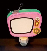 Children's Quality Designed Pink Tv Bedroom Night Light