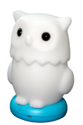 KinderGlo Owl Portable Fun and Safe Rechargeable Night Light