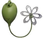 Moonbeam Solar Powered Nightlight Flower, Green