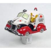 Henry Cavanagh K-9 Ambulance 3D Ceramic Car Night Light