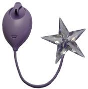 Moonbeam Solar Powered Nightlight Star, Purple