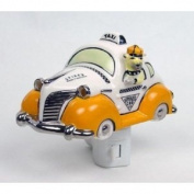 Henry Cavanagh Spike's Taxi 3D Ceramic Car Night Light