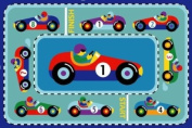 Vroom Race Car Rug OLIVE KIDS 19 x 29 Rug