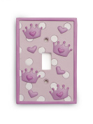 Kids Line Decor Switchplate Cover, Shoppe Princess