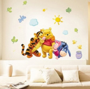 WallStickersUSA Wall Sticker Decal, Winnie The Pooh Hug Collection