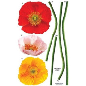 Nursery Easy Apply Wall Sticker Decorations - Floral Arrangements