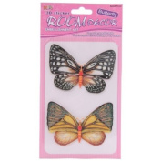 3D Butterfly Decorations - Pack of 2