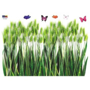 Reusable Decoration Wall Sticker Decal - Barley and Butterflies