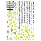 Easy Instant Home Decor Wall Sticker Decal - ECO Garden