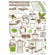 Easy Instant Home Decor Wall Sticker Decal - ECO Cafe