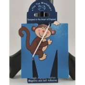 The Toy Workshop Jungle Alphabet Magnetic Initial M Monkey NEW!