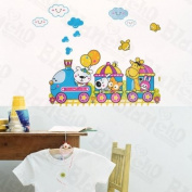 [Enjoy Train Journey] Decorative Wall Stickers Appliques Decals Wall Decor Home Decor