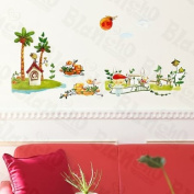 [Dream Garden] Decorative Wall Stickers Appliques Decals Wall Decor Home Decor