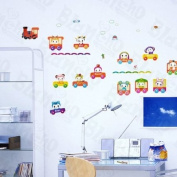 [Funny Racing] Decorative Wall Stickers Appliques Decals Wall Decor Home Decor