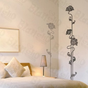 [Floral Waiting] Decorative Wall Stickers Appliques Decals Wall Decor Home Decor