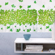 [Whitetip Clover] Decorative Wall Stickers Appliques Decals Wall Decor Home Decor