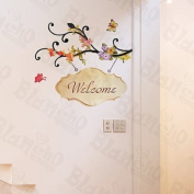 [Warm Welcome] Decorative Wall Stickers Appliques Decals Wall Decor Home Decor