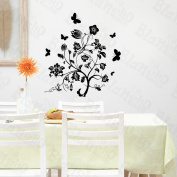[Classic Black] Decorative Wall Stickers Appliques Decals Wall Decor Home Decor